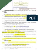 Decreto Nº 6029 - Gestão Da Ética Do Poder Executivo Federal