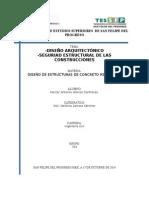 ENSAYO DE LA SEGURIDAD ESTRUCTURAL DE LA CONSTRUCCIONES.doc