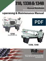 Model 1318 Parts Manual 140114