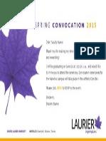 SpringConvocation2015 Faculty Evite Waterloo Fillable