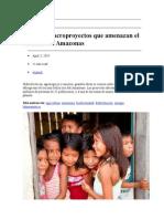 Explotacion en el Amazonas