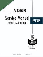 Singer 331K1 331K4 Service Manual