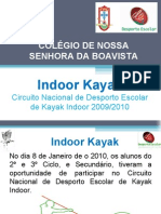 Indoor Kayak