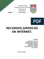 Recursos jurídicos en Internet
