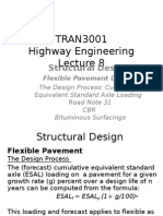 Highway Engineering TRAN 3001 Lecture 8