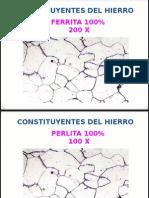Microconstituyentes Hierro 100%