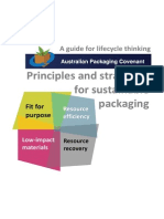 Principles and Strategies for Sustainable Packaging