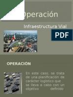 Operación Infraestructura Vial