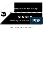 Singer 319 User Manual