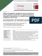 Validacion de La Citologia en El Cancer de Pulmon