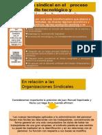 Organización sindical en el   proceso de desarrollo tecnológico y globalización  de  la economía.ppt