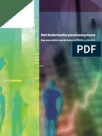 Brochure over het Nederlandse pensioensysteem