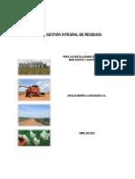 ARIBA-UDEA ALIAR Plan Gestion Integral Residuos_Draft Final_Abril 2013