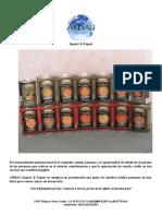 CATALOGO ARBAU Import & Export