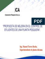 Exposición - Afluentes Planta Pesquera