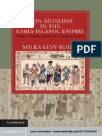 (Cambridge Studies in Islamic Civilization) Milka Levy-Rubin-Non-Muslims in the Early Islamic Empire_ From Surrender to Coexistence-Cambridge University Press (2011)