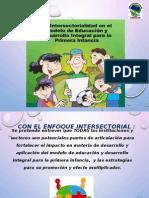 La Intersectorialidad en El Modelo de Educacion Inicial-Santa Ana (1)
