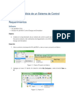 Ejercicio 1 Control Design and Simulation