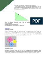 Las Relaciones Metricas en El Triangulo Rectangulo