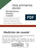 Elementos de Medicion caudal