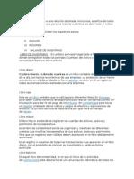 Libros de Contabilidad y conceptos