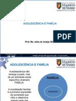 Adolescencia e família.ppt