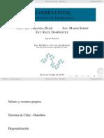 Valores y Vectores propios- matlab