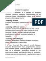 Economy of Pakistan Notes