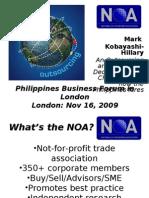 Presentation 1 - Mark Hillary - NOA