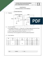 Laporan Praktikum Sistem Kendali - PID Proportional, Integral dan Derivative