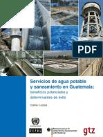 Servicios de Agua Potable y Sanamiento en Guatemala