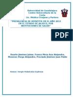 Hepatitis Epidemiología