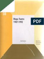 Mapa Teatro 1987-1992