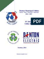 Denton-Municipal-Electric-Electric-Rate-Schedules