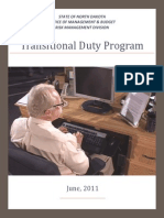 Transitional Duty Guide2011