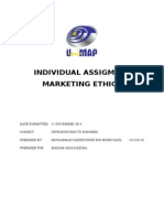 Marketing Ethic Assigment