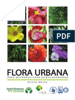 Flora Urbana Del Área Metropolitana de Bucarmagna