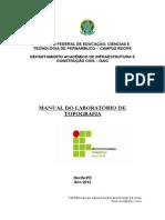 Manual Do Laboratório de Topografia