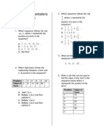 multiple representations review