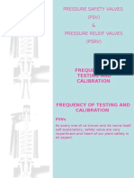 PSV Test Frequency