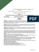 Reglamento de La Ley de Edificaciones Para El Municipio de Ensenada