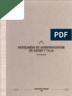 Patologías en Construcciones de Adobe y Paja