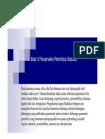 Parameter Petrofisik Batuan