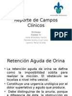 Reporte de Campos Clínicos