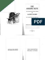 Kubin, Alfred – Die Andere Seite