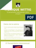 presentacion Monique Wittig - El pensamiento heterosexual