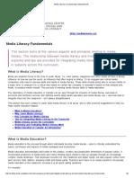 media literacy fundamentals   mediasmarts