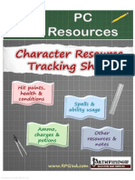 Player Resources - C01 - Character Resource Tracking Sheet (6744724)