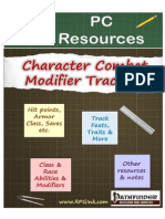 Player Resources - C02 - pathfinderCharacter Combat Modifier Tracking Sheet (6744724)