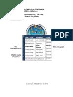 1 TI - Metodología de La Investigación